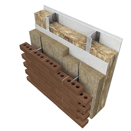 LSF Brickskin Ancon Rainscreen Slab 2